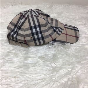 Burberry Nova Check Baseball Cap OS